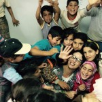 Mina in Jordan for Comedy Tour